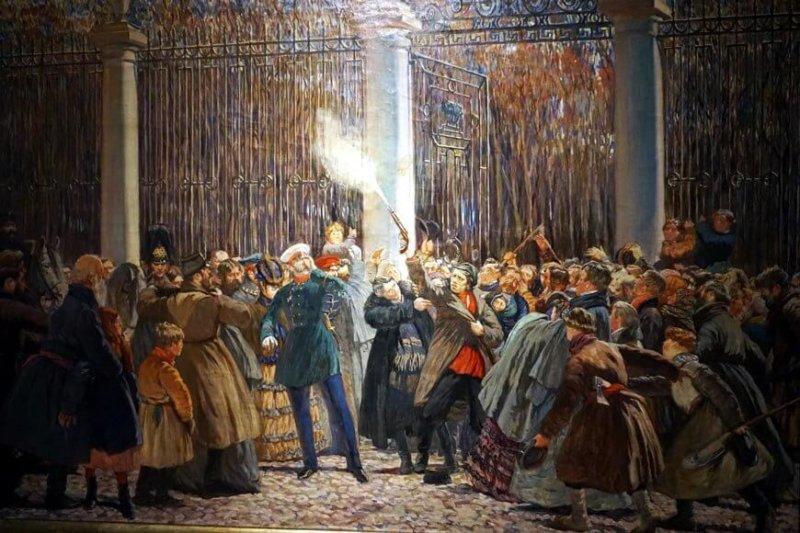4 апреля 1866 года на Александра II было совершено покушение Дмитрием Владимировичем Каракозовым