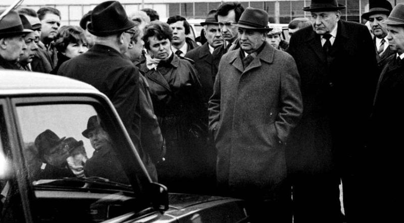 8 апреля 1986 года Генеральный секретарь ЦК КПСС Горбачев во время пребывания на ВАЗе впервые употребил слово «перестройка»