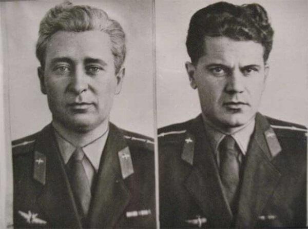 Капустин Б. В., штурман Янов Ю. Н