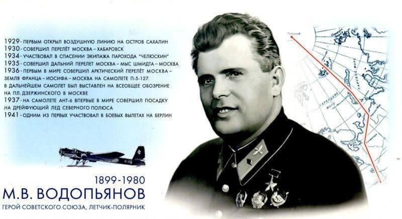 М.В. Водопьянов