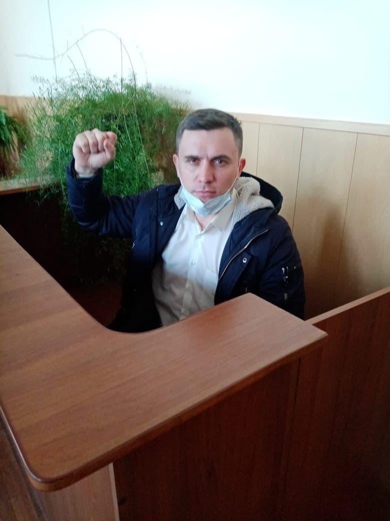 Бондаренко в суде
