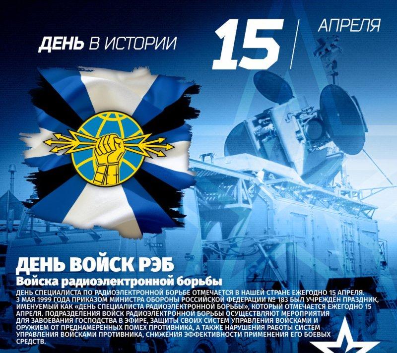 День специалиста по радиоэлектронной борьбе РФ