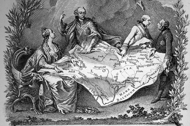 15 апреля 1795 года Прибалтика присоединена к России