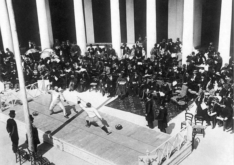 15 апреля 1896 года в Афинах завершились первые современные Олимпийские игры.