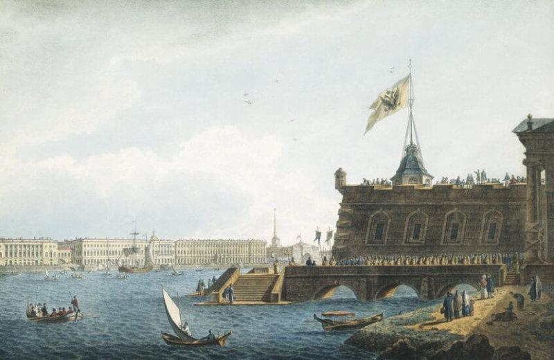 1704 - На Петропавловской крепости в Петербурге был зажжен первый маяк.