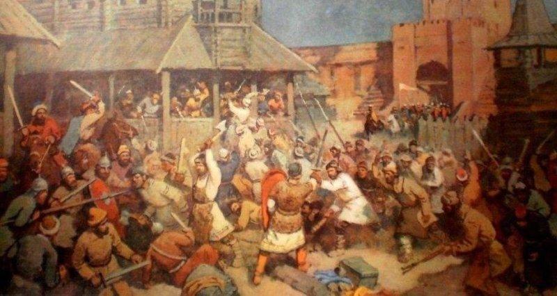 16 апреля 1113 года смерть великого князя Святополка. Восстание в Киеве