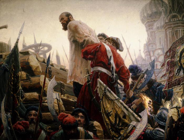 1671 - Степан Разин был выдан царским воеводам и вскоре казнен