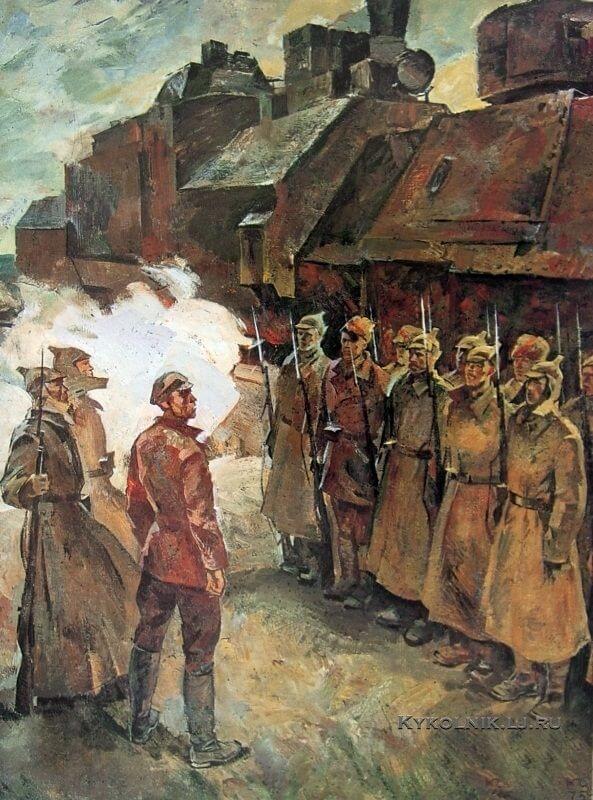 17 апреля 1919 г. ЦК РКСМ обратился с письмом к местным организациям комсомола об оказании помощи Восточному фронту.