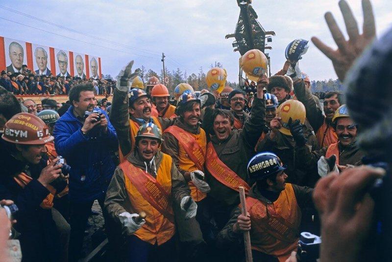 17 апреля 1984 года на разъезде имени Героя Советского Союза Мирошниченко на полтора года ранее установленного срока завершился важный этап строительства Байкало-Амурской магистрали