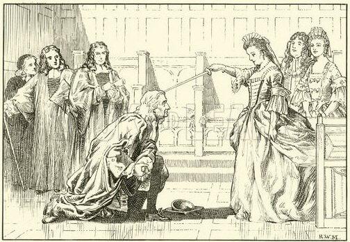 1705 - Английская королева Анна произвела Исаака Ньютона, открывшего закон всемирного тяготения, в рыцари