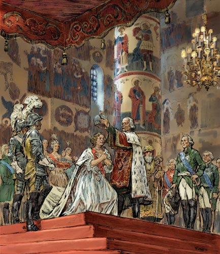 1797 - Коронация императора Павла I в Москве