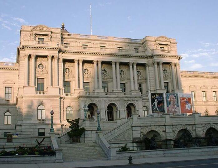 1800 - Основана Библиотека конгресса США