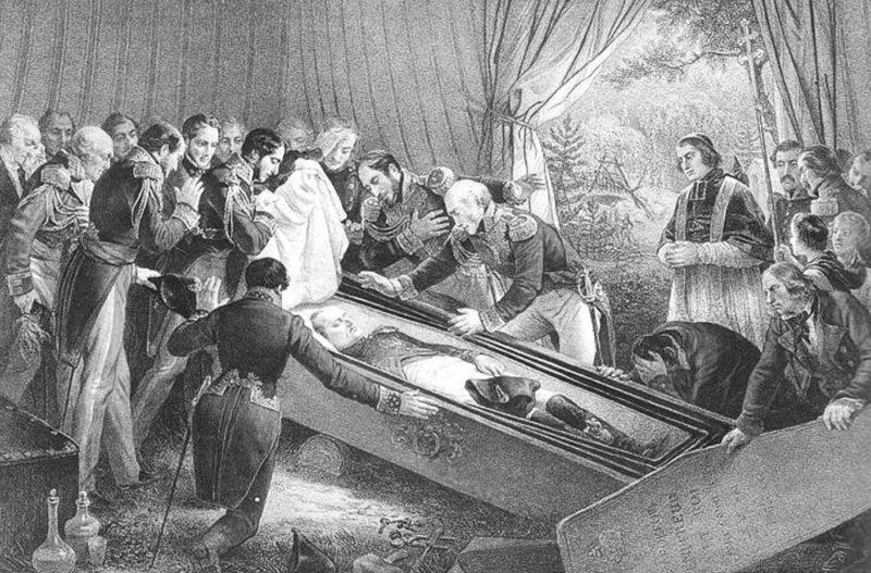 1821 - Смерть Наполеона I на острове Святой Елены