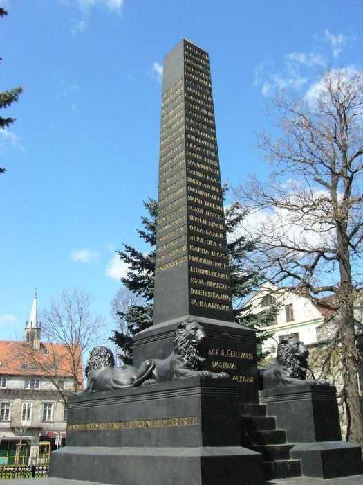 1821 - В городе Бунцлау (Болеславец, Польша)