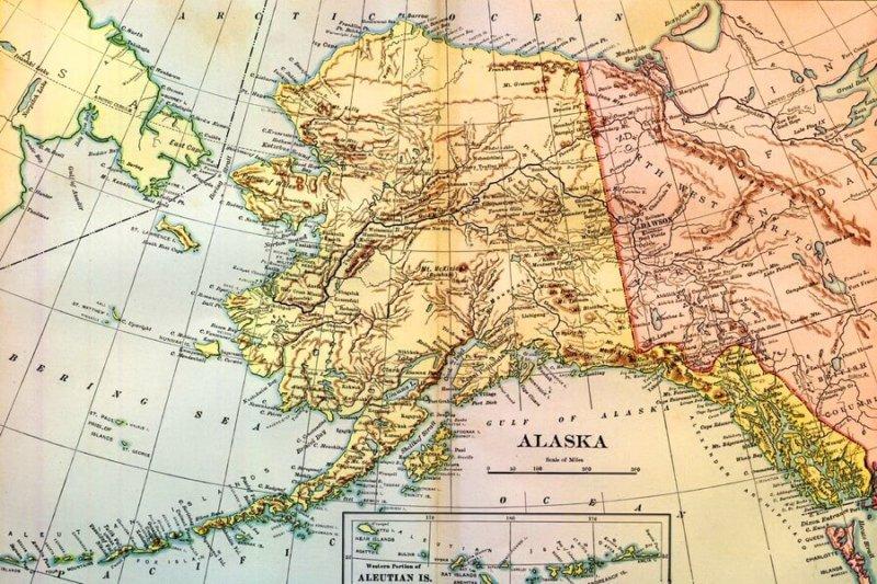 1824 - Российско-американский договор по Аляске