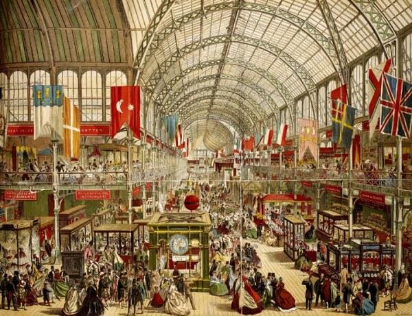 1851 - Королева Виктория и ее супруг принц Альберт торжественно открыли в Лондоне первую Всемирную промышленную выставку,
