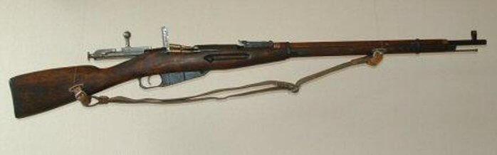 1891 - На вооружение русской армии принята знаменитая трехлинейная магазинная винтовка Мосина