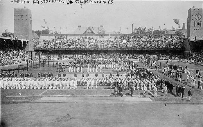 1912 - Открылись V летние Олимпийские игры