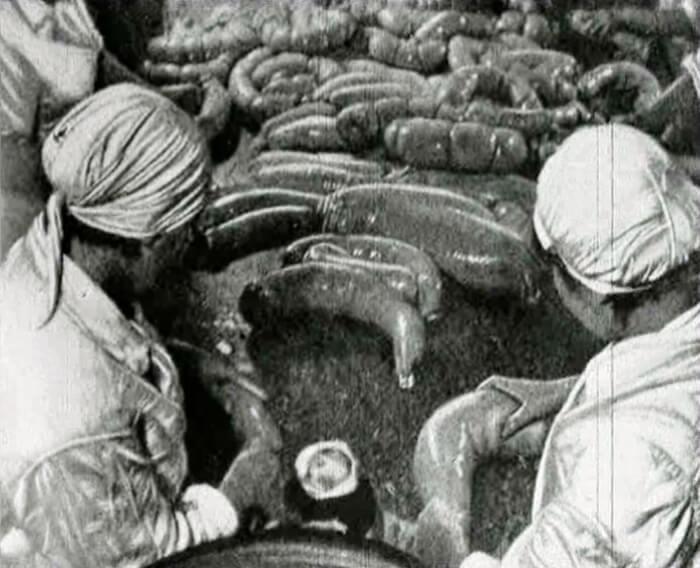1936 - На мясокомбинате имени А. Микояна