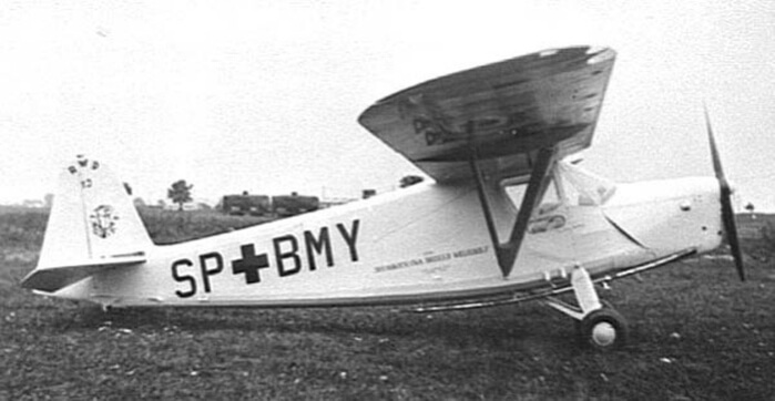 1937 - Был облетан прототип санитарного самолета