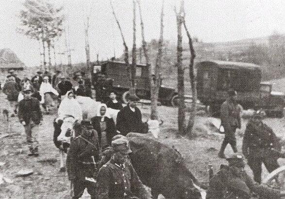 1947 - Польские власти начали операцию Висла