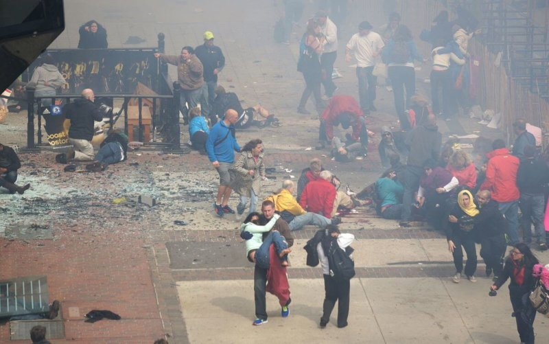 2013 - Террористический акт на Бостонском марафоне.