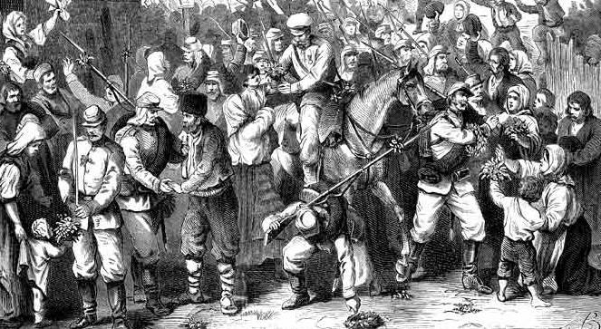 24 апреля 1877 года Россия объявила Турции войну