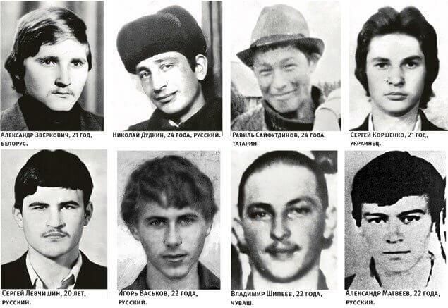 26 апреля 1985 года 12 советских военнопленных в лагере Бадабер (35 км от Пешавара) в Пакистане подняли восстание