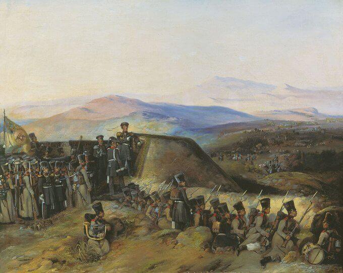 26 апреля 1828 года в ответ на воззвание султана Махмуда II к мусульманам с обвинениями в организации восстания в Греции в адрес России последняя объявила Турции войну