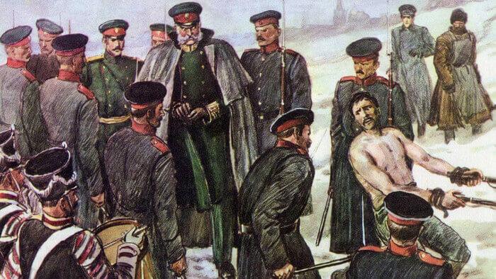 29 апреля 1863 года Приказом по военному ведомству № 120 объявлено об отмене в армии телесных наказаний