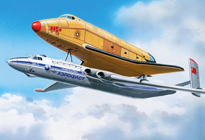 29 апреля 1981 года состоялся первый полет самолета-носителя ВМ-Т Атлант ОКБ имени М.В.Мясищева.