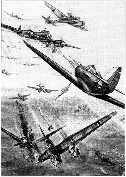 17 апреля 1943 года начало воздушных сражений над Кубанью