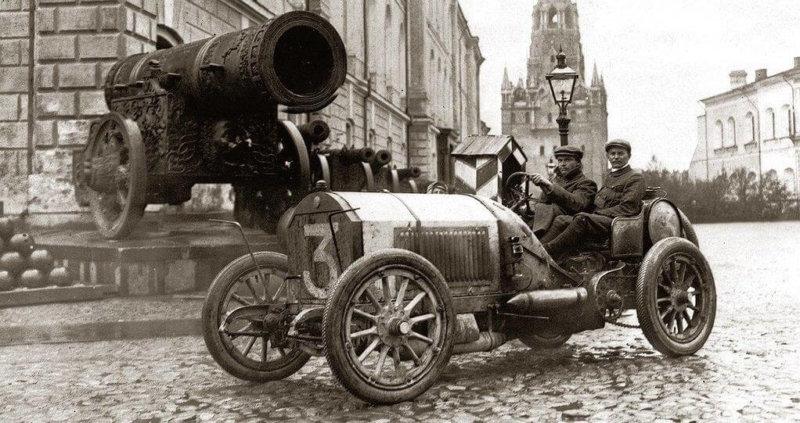 1 июня 1908 года в Москве завершился первый в России дальний автопробег
