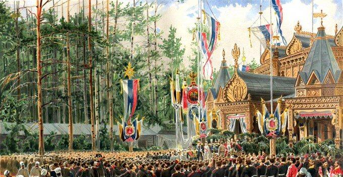 10 мая 1883 года указом императора Александра III бело-сине-красные цвета были объявлены национальными цветами России