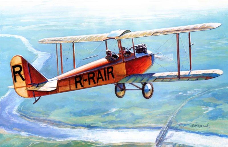 12 мая 1927 года состоялся первый полёт спортивного самолёта АИР-1