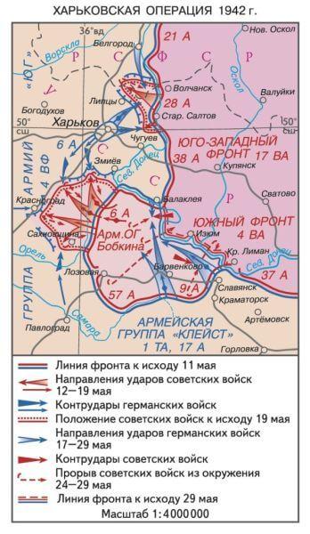 12 мая 1942 года во время Великой Отечественной войны войска Юго-Западного фронта