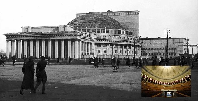 12 мая 1945 года оперой «Иван Сусанин» открылся Новосибирский театр оперы и балета – самый большой в стране
