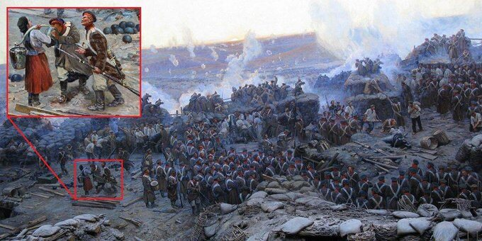 14 мая 1905 открыта панорама Рубо «Оборона Севастополя