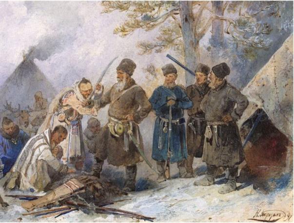 1483 - Приращением Сибири Россия обязана вовсе не Ермаку