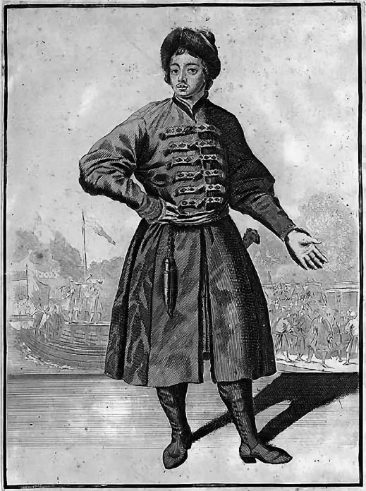 1694 - Петр I выехал из Москвы на Белое море.