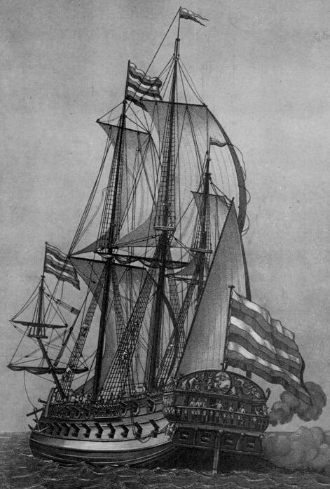 1700 - Состоялся спуск на воду корабля Предестинация