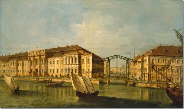 1732 - Заложен первый Зимний дворец