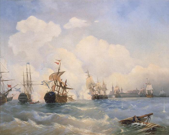 1790 - Во время русско-шведской войны 1788-1790 годов полным поражением шведского флота завершился Ревельский морской бой.
