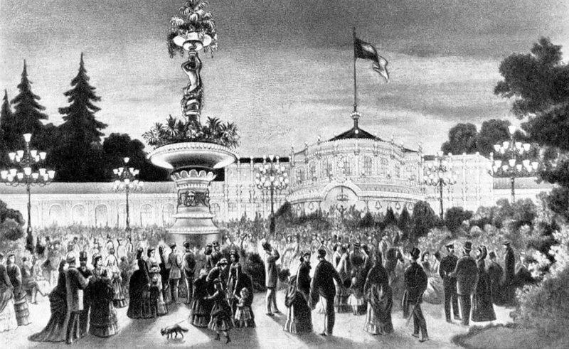 1838 - Открыт Павловский музыкальный вокзал.