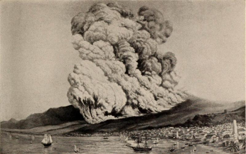 1902 - Разрушительное извержение вулкана Монтань-Пеле