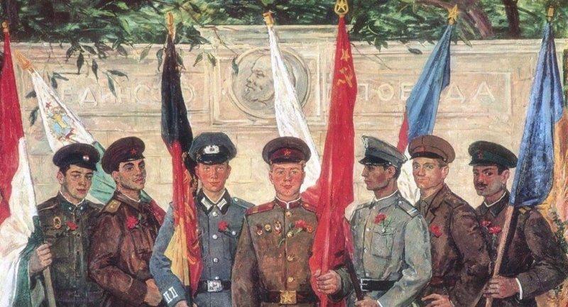 1955 - В Варшаве был подписан Договор о дружбе, сотрудничестве и взаимной помощи представителями Албании, Болгарии, Венгрии, ГДР, Польши, Румынии, СССР и Чехословакии.1