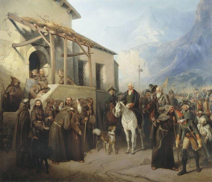 26 мая 1799 года - в ходе Итальянского похода войска Александра Суворова без боя взяли город Турин, очистив Италию от французов