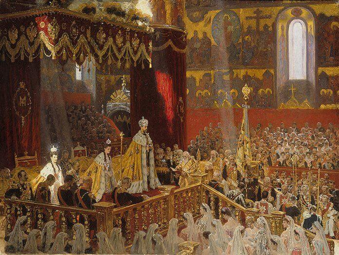 26 мая 1896 года в Успенском соборе Московского кремля состоялась коронация последнего российского императора Николая II и его супруги Александры Фёдоровны