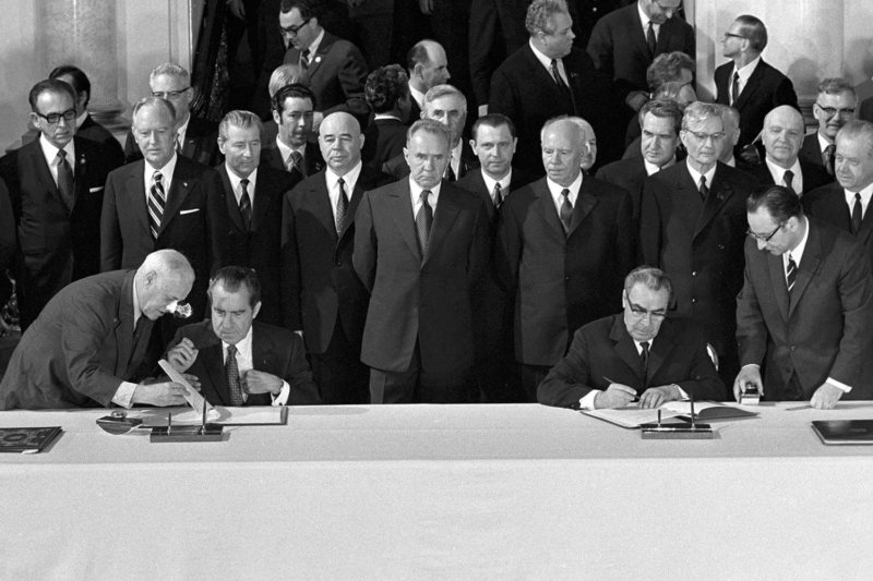 26 мая 1972 года в Москве подписано Временное соглашение между СССР и США