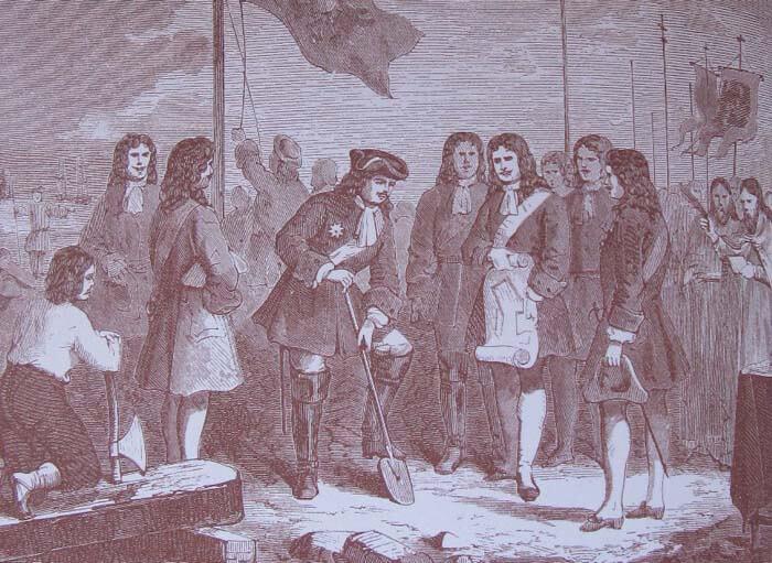 27 мая 1703 года на Заячьем острове Петром I состоялась закладка крепости, с которой начался город Санкт-Петербург
